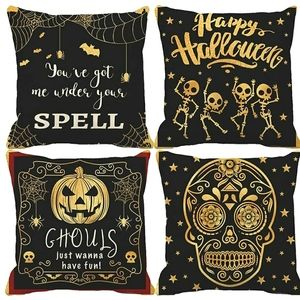 Other - Accent pillow covers, Halloween 4 piece set